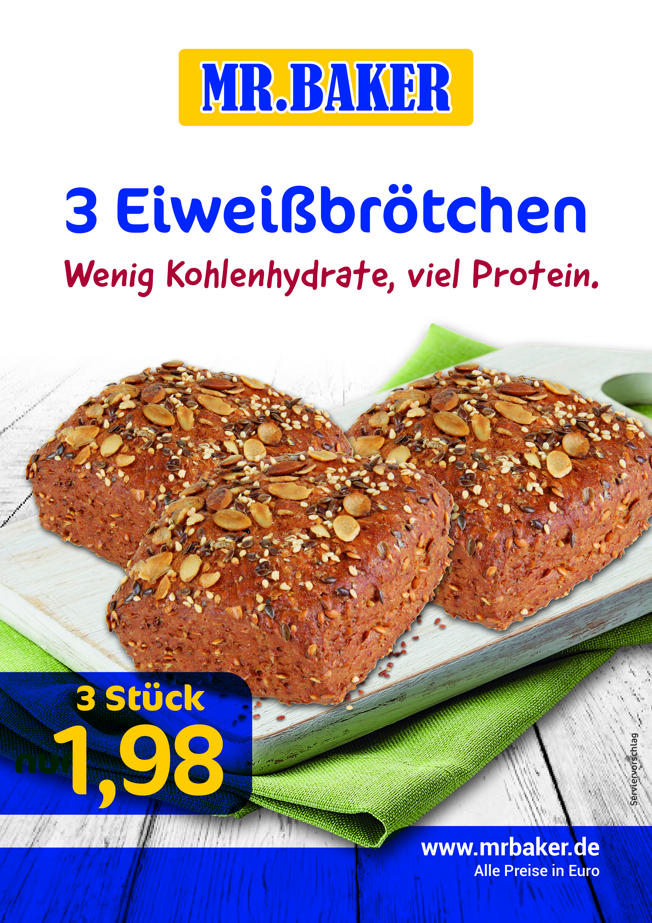 Das Mr.Baker Angebot 01. - 15. April